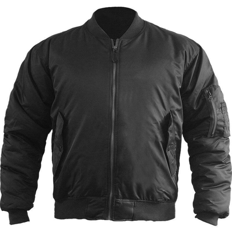 Jaqueta piloto Allphan-MA1 força aérea fina jaqueta de algodão jaqueta masculina