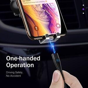 Image 5 - Usb סוג C כבל 1m 2m Led מגנטי כבל טעינה מהירה עבור Samsung Galaxy S9 S8 בתוספת הערה 9 8 OnePlus 7 פרו מטען כבל
