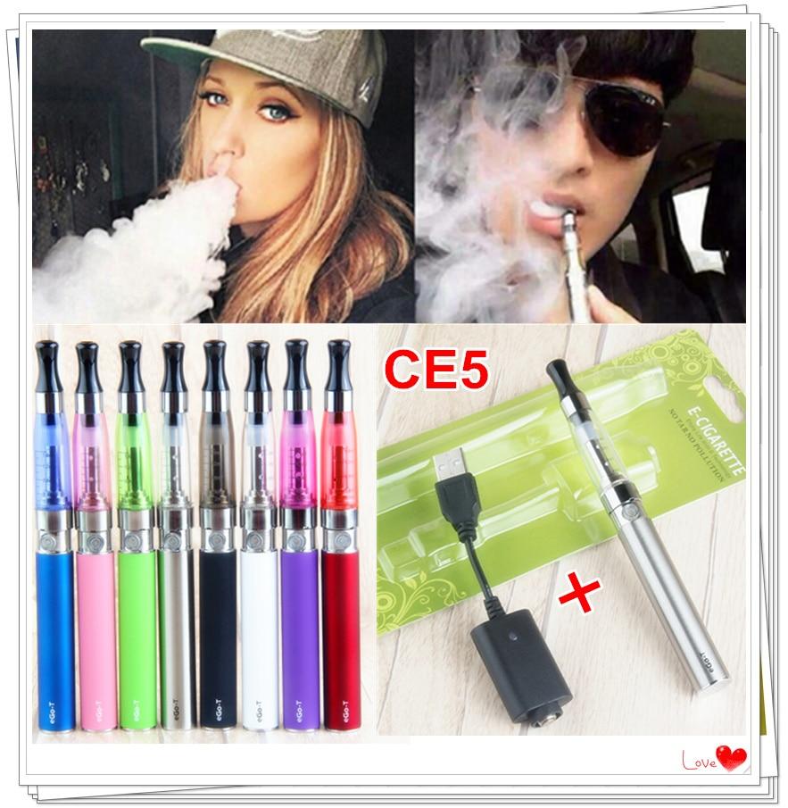 EGO CE5 Vape Pen Kit Electronic Cigarette Rechargeable 900mAh Vaporizador Smoker Ego Ce5 Best Atomizer USB Charger For E Liquid