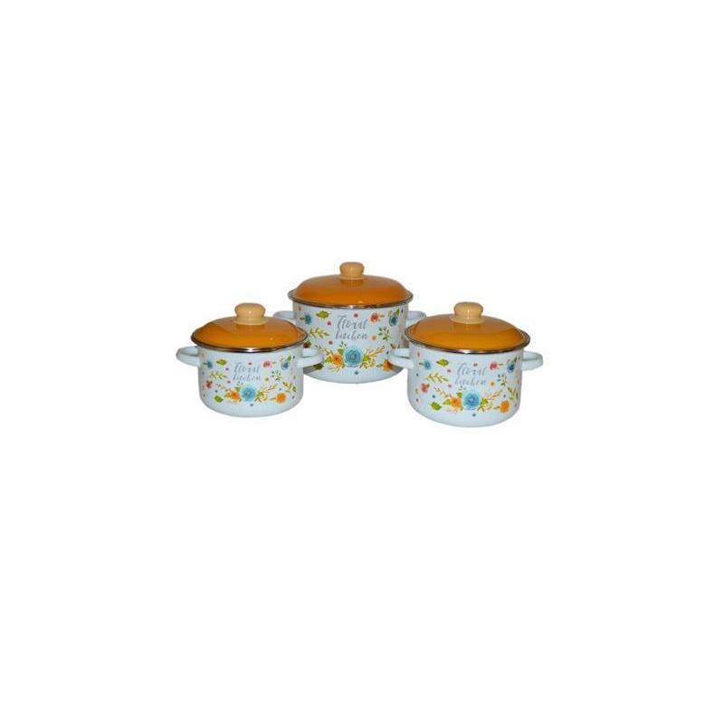 A Set Of pans APPETITE, FLORAL KITCHEN, 19, 6 items