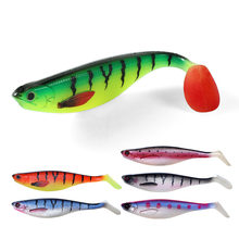 FSTK 17cm38g fishing isca soft lure artificial silicone bait leurre souple shad lure for pike shad esfing sea fishing lures(China)