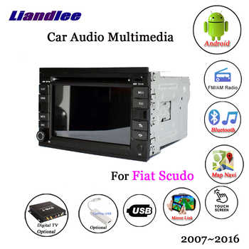 Car Android Multimedia For Fiat Scudo 2007~2014 2015 2016 Car Radio CD DVD GPS Navigation System DVR Driving Video Recorder