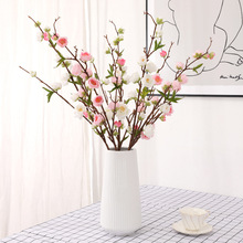 Rural Style Simulation Plum Blossom Artificial Flower Silk Wax Fake Home Decoration Wedding Shop Window