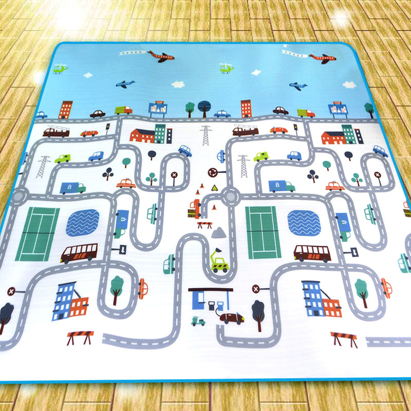 H5f9e7028ffbc456ea3a90f9ac5bf6c47L Baby Play Mat Kids Developing Mat 200*180*0.5 cm Thick Gym Games Play Puzzles Baby Carpets Toys For Children's Rug Soft Floor