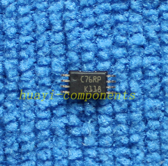 1 pièces/lot M93C76-RDW6TP 93C76 C76RP TSSOP-8 IC EEPROM 8KBIT 1MHZ voiture carte dordinateur couramment utilisé puce mémoire IC