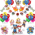 В комплекте детский праздничный костюм принадлежности из мультфильма «Щенячий патруль» из шар День рождения Лапа собаки декоративный шар ...