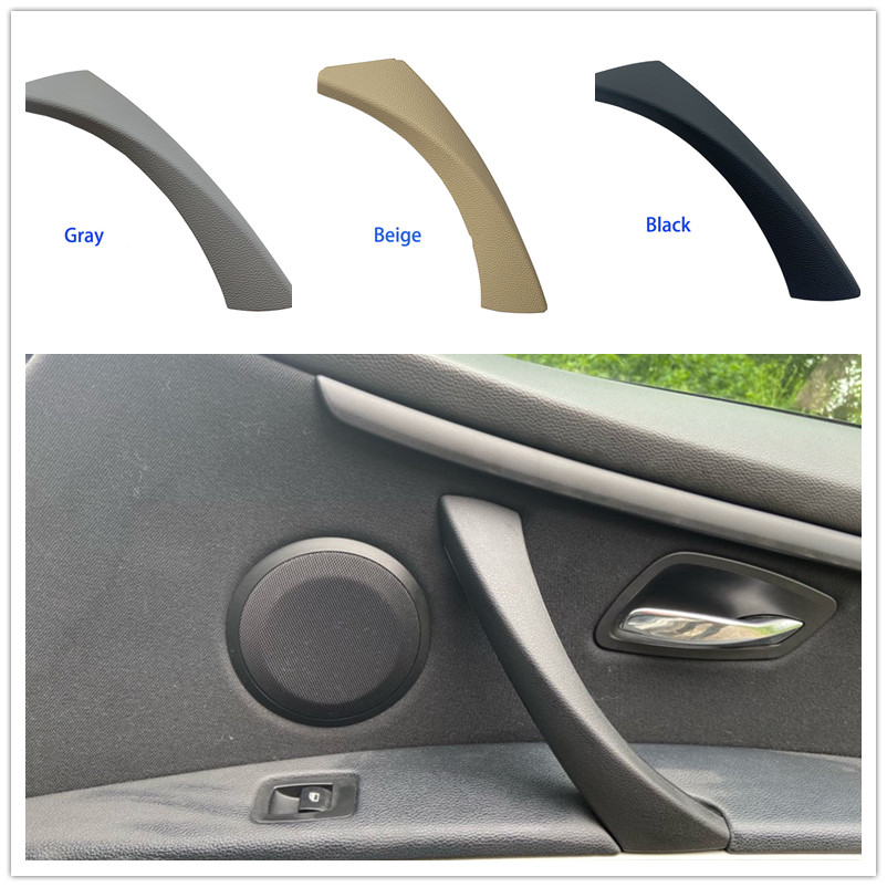 51419150335 car Left/Right Interior Inner Door Armrest Panel Handle Pull Trim Cover For BMW 3 series E90 E91 51417230850 image