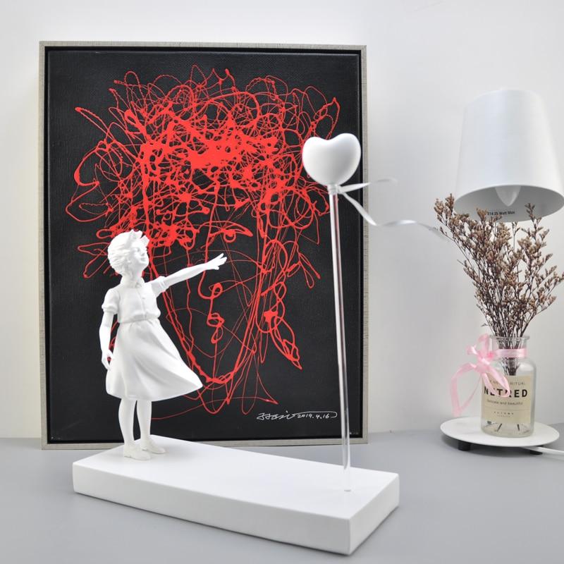 Летающий шар Banksy, фотополимерное ремесло, украшение для дома, Рождественский роскошный подарок, статуэтка, украшение