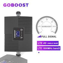 AMPLIFICADOR DE señal móvil LTE 4G 1800MHZ DCS GSM 4G repetidor 4G señal de refuerzo para teléfonos móviles Band3 con pantalla LCD Mini nuevo *