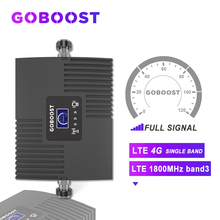 GOBOOST LTE Cellular Signal Booster 4G 1800 mhz DCS GSM 4G Repeater 4G Booster Signal For Band3 Mobile phones Cellular Amplifier