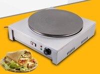 Verdickt kommerziellen pfannkuchen herd automatische thermostat pfannkuchen obst maschine