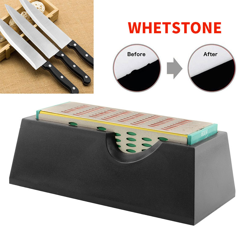 4-Sides Whetstone Diamond Sharpening Stone 4 Sides Sharpener Stone Quick Home &Amp; Garden Bar Dining