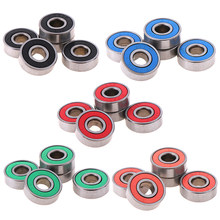 5x ABEC-9 608 2RS Inline Roller Skate Wiellager Anti-Roest Skateboard Wiellager Rode Verzegelde 8X22X7 Mm As