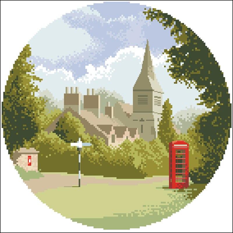 F Village phone booth 乡村电话亭