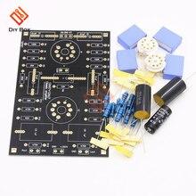 Placa preamplificadora de tubo de circuito clásico, kit DIY para 12AX7/12AU7, ajuste de tu voz, última versión