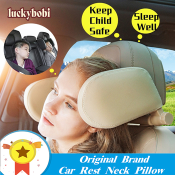 Car Seat Headrest Pillow Travel Rest Neck Pillow Support Solution For Kids Pillow And Adults Auto Seat Head Cushion Car Pillow
