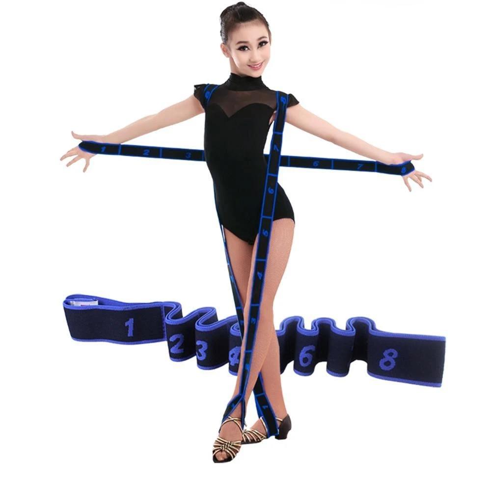 Yoga Latin Dance Training Fitness Pilates Elastic Stretch Resistance Band Belt