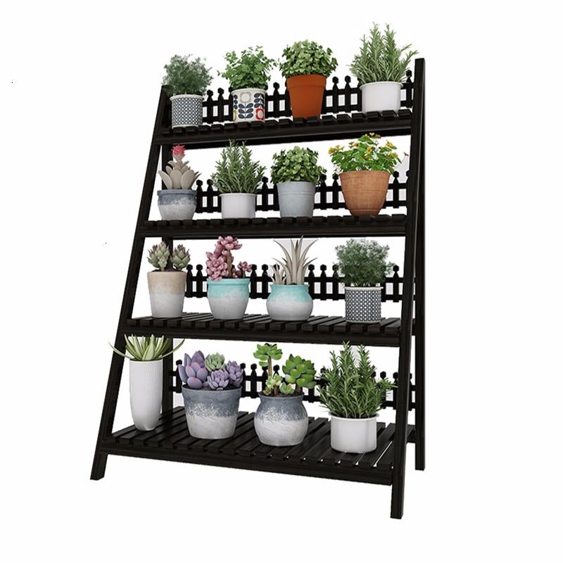 Pour Etagere Plante Repisa Para Plantas Plantenstandaard Dekoration Rack Outdoor Flower Stand Stojak Na Kwiaty Plant Shelf