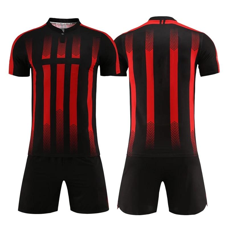 Hot Sale Soccer Jersey Shirt Maker Soccer Suit For Boy Custom Blank Sport Jerseys Team Uniform Football Kits