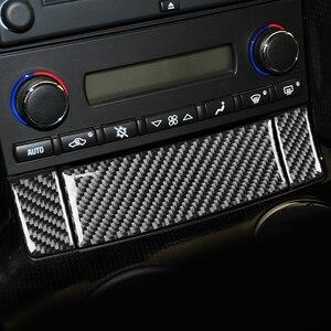 Image 4 - คอนโซลกล่องเก็บแผงตกแต่งสติกเกอร์สำหรับ Chevrolet Corvette C6 2005 2007คาร์บอนไฟเบอร์รถยนต์อุปกรณ์เสริม