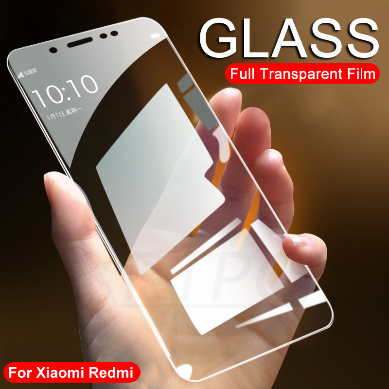 9H Protective Glass For Xiaomi Redmi 5 Plus 5A 6 6A 7A 8 8A 4 4A 4X Tempered Screen Protector Glass On Redmi Note 4 4X 5 5A Film