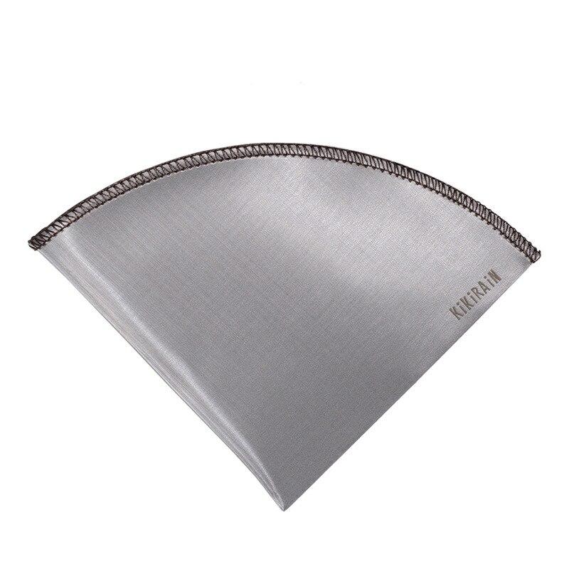 Les filtres portatifs de café versent sur le filtre recyclable de papier filtre de café d'acier inoxydable du café sus304 réutilisable