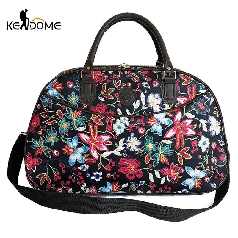 Embroidery Gym Bag For Women Leather Fitness Handbag Training Shoulder Bags Waterproof Yoga Gymtas Sac De Sporttas 2019 XA218D