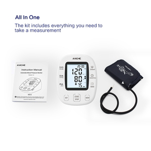 Image 4 - AVICHE Professional Automatic Digital Arm Blood Pressure Monitor Backlit LCD Display Talking Medical Device Sphygmomanometer