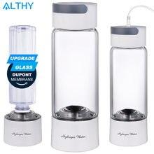 Althy водородный генератор воды бутылка стекло cupbody  dupont