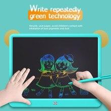 Tablet de escrita lcd 15 Polegada desenho almofada de escrita placa de gráficos de mensagem crianças placa de escrita chave de bloqueio de um clique claro presente da criança