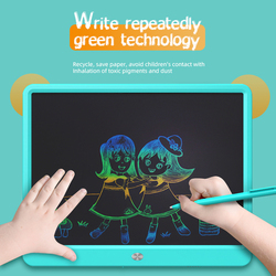 LCD Writing Tablet 15 Inch Drawing Handwriting Pad Message Graphics Board Kids Writing Board Lock Key One-Click Clear Child Gift