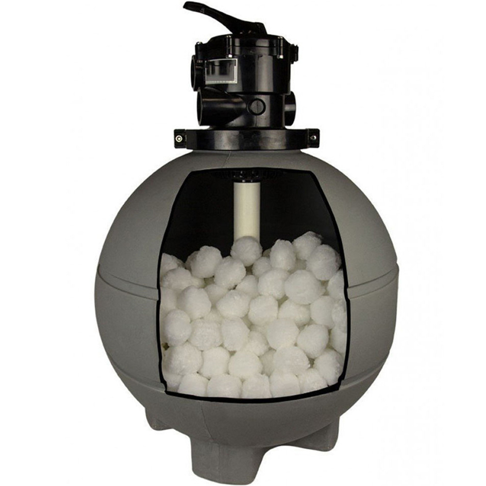 Filter Ball Sand Lightweight Durable Eco-friendly For Swimming Pool Cleaning Equipment EIG88