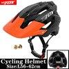 2019 corrida capacete de bicicleta com luz in-mold mtb estrada ciclismo capacete para homens mulheres ultraleve capacete esporte equipamentos de segurança 25