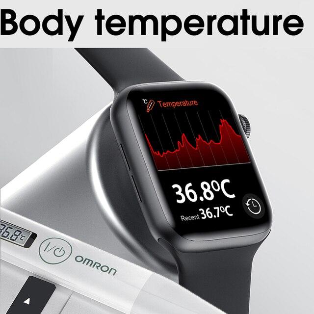 Original IWO W26 smartwatch Dropshipping link smart watch 2020 for men women 1.78 inch screen ECG  better than iwo 12 pro max 2