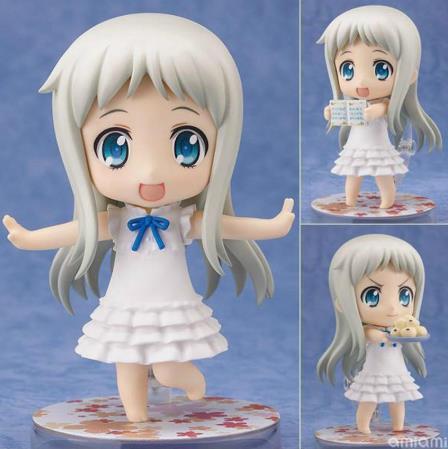 Honma Meiko Menma 204 Anohana Action Figure PVC Collection Model toys brinquedos for christmas gift