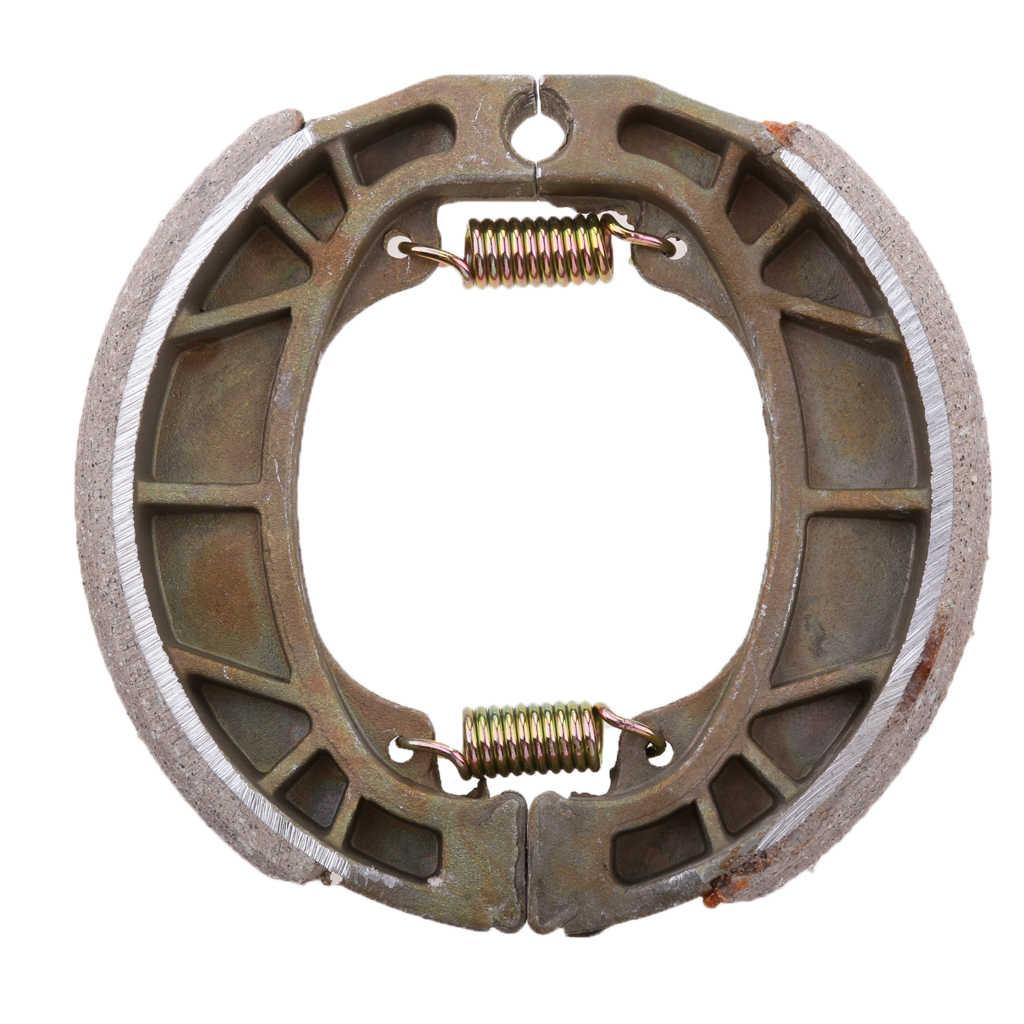 105mm de plata de tambor trasero pastillas de freno pastillas 50 110, 125 de 150 cc GY6 ciclomotor Scooter