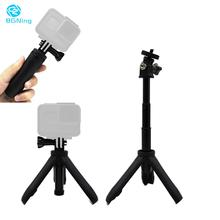 Selfie Stick Mini Protable Tripod Extension Pole Handheld Monopod Pole Hand Grip Mount for Gopro Hero 8 7 YI Osmo Action Camera handheld gimbal adapter switch mount plate for gopro 6 5 4 3 3 yi 4k camera for dji osmo for feiyu zhiyun smooth q gimbal
