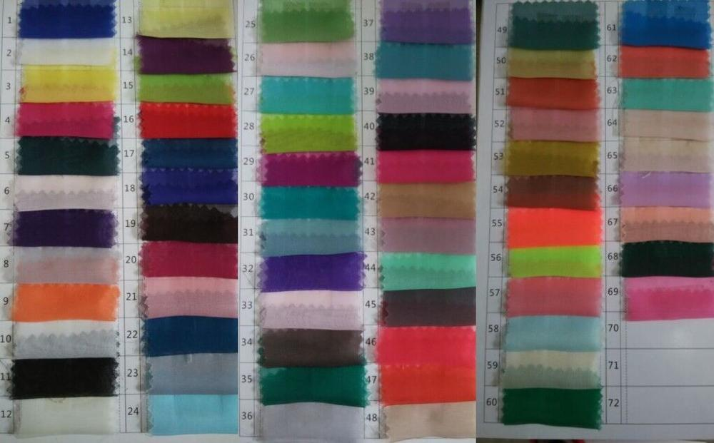 100cm Length Chiffon Fabric Can Be Used Skirt Or Dress