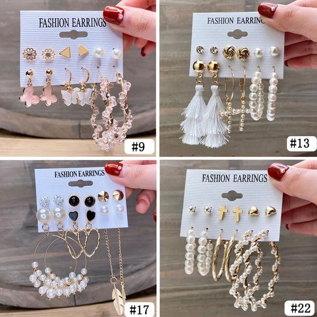 gorgeous multi earring sets 3