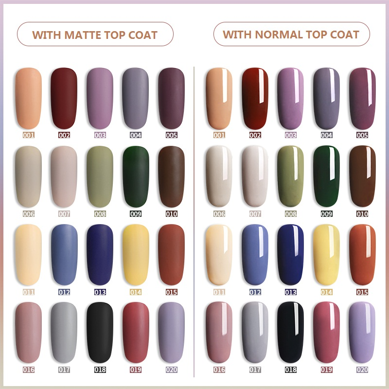 RS NAIL Wholesale Gel Nail Polish Special Color Series For Nail Art Salon Professional Collection Hot Sale Color