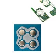 100 قطعة غشاء موصل ل نينتندو سويتش Joy Con اليسار اليمين دائرة تحكم كهربائية D منصات D Pad المعادن قبة المفاجئة لوحة دارات مطبوعة أزرار