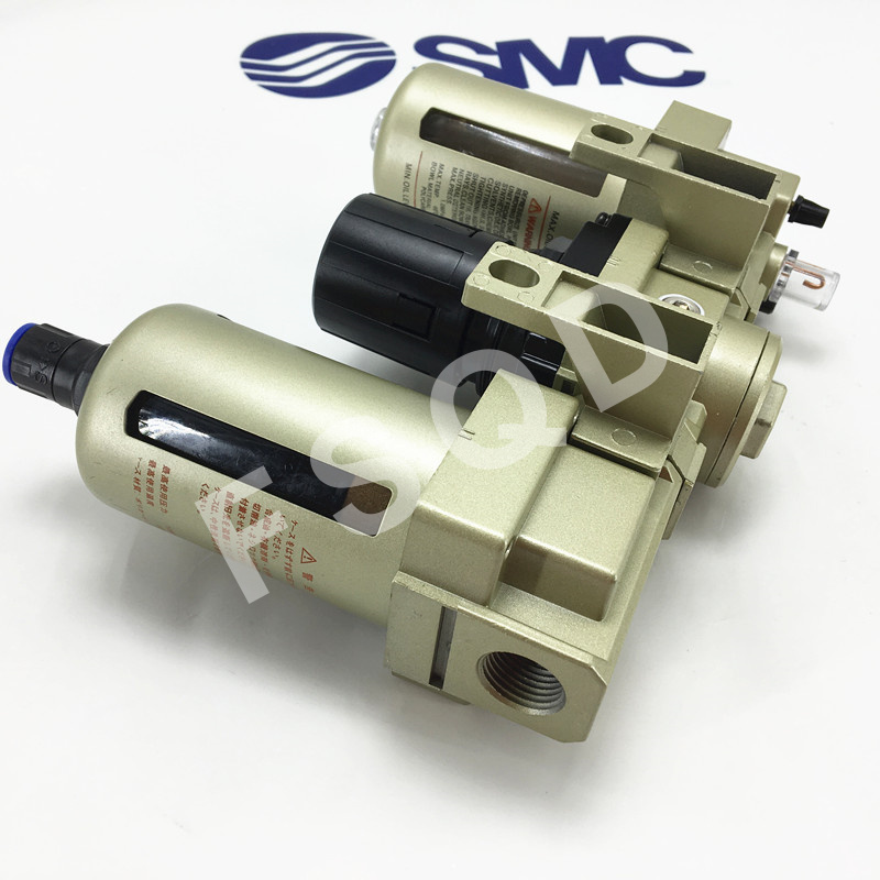 AC4000 04D SMC FRL air source processor automatically  water drainage AC series pneumatic component air tools-in Pneumatic Parts from Home Improvement    2