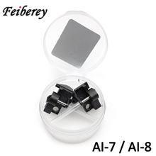 Signalfire AI7 AI8 AI8C AI9 optik Fiber füzyon Splicer AI 7 AI 8 AI 8C AI 9 Fiber optik füzyon ekleme makinesi elektrot