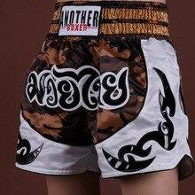 Thai men's Boxer Shorts MMA children's women's BJJ Taekwondo training fighting grab swimming trunks fitness boxer pants Cr
