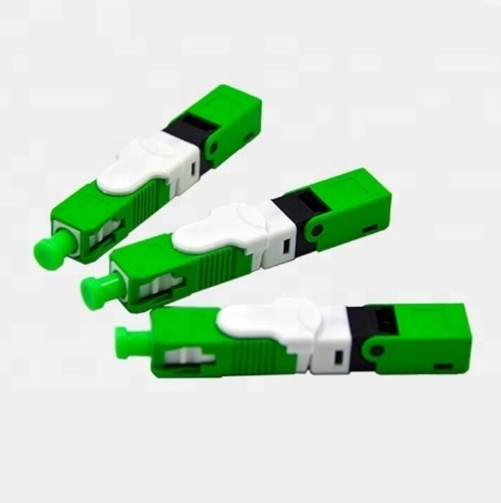 Free Shipping 100PCS Lot FTTH ESC250D SC APC and SC UPC Single Mode Fiber Optic New