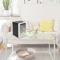 Tragbare USB Luftkühler 3 Geschwindigkeit Einstellbar Stumm Reiniger Conditioner Befeuchtung Fan für Home Office Desktop Liefert-in Ventilatoren aus Haushaltsgeräte bei