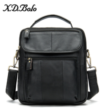 X.D.BOLO Leather Men's Bag Casual Crossbody Bags
