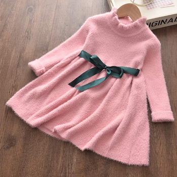 Melario Baby Girls Dress New Autumn Winter Princess Dresses for Girl Kids Dress Party Dress New Year Children Clothing Vestidos baby girls bow dress summer clothes for kids girls dress girl princess party dress 2017 new arrival children clothing