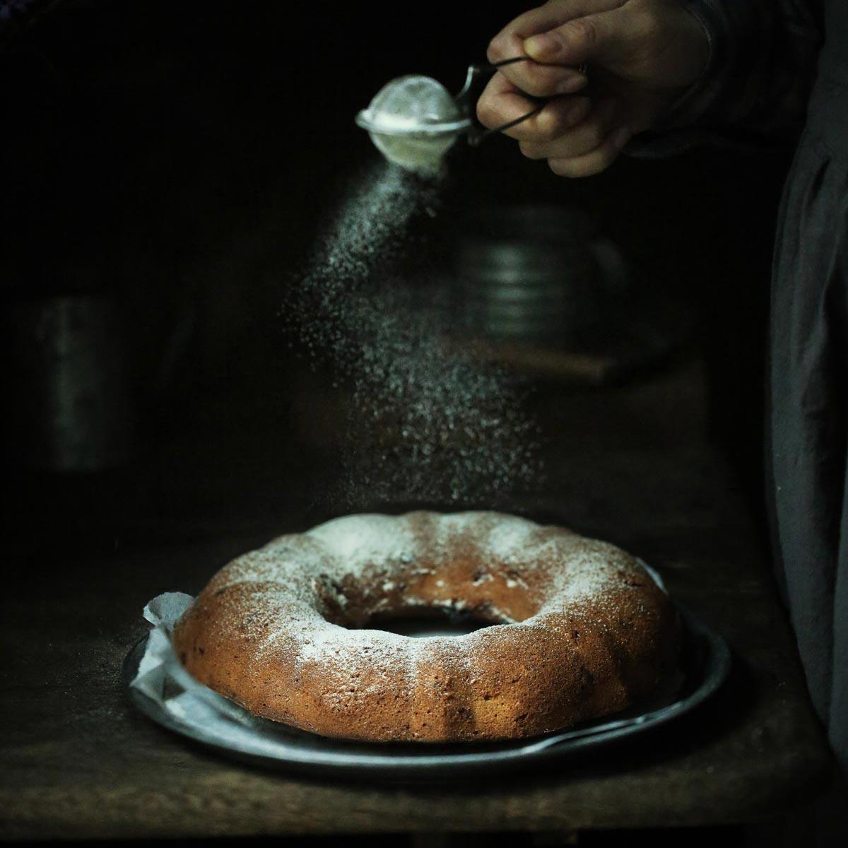 Еда фотография ручной порошок Пыльник порошок сито шар серебро маленький фотографический реквизит
