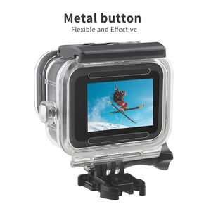 Image 3 - SHOOT 60M Waterproof Case for GoPro Hero 8 Black Protective Diving Underwater Housing Shell Cover for Go Pro 8 Camera Accessory